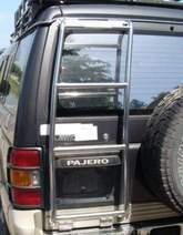 Лесенка на Pajero2